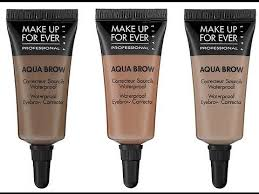 how to makeup forever aqua brows