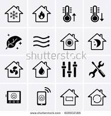 hvac fan icon. heating and cooling icons. hvac (heating, ventilating, air conditioning) technology hvac fan icon