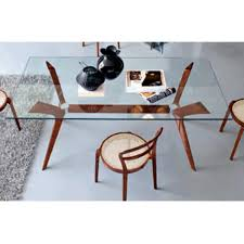 ... Stunning Calligaris Glass Dining Table : Delightful Calligaris Tokyo  Glass Top Dining Table With Brass Polished ...