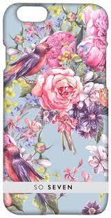 <b>So Seven</b> Summer Chic Oiseaux <b>чехол</b> для Apple iPhone 7/8