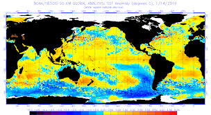 Ocean Temperature Charts Atlantic Current Operational Sst Anomaly Charts Ospo