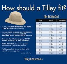 Tilley Hat Size Chart Tilley Ltm5 Nylon Airflo Hat Natural