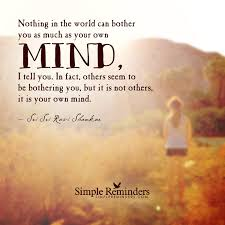 blog posts it is your own mind by sri sri ravi shankar