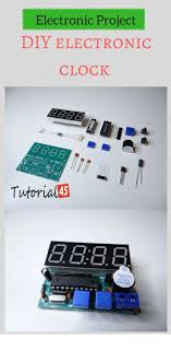 Electronic Engineering Design Project Ideas Electronic Project Diy Electronic Clock Electronics