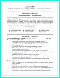 Pharmacy Technician Resume Sample Objective For Pharmacy Technician Resume Sample Cover Letter 19