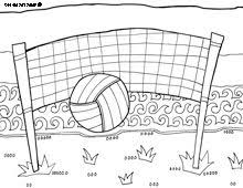 Volleyball Color Pages 43 Best Printables Images Sports Coloring Pages Coloring Pages