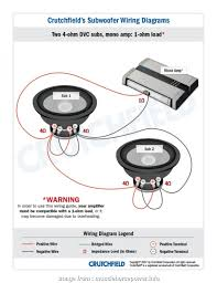 Speaker Wire Chart Cleaver 1 Subwoofer Wiring Diagrams
