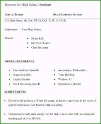 resume examples high school student high school student resume examples outstanding 10 high