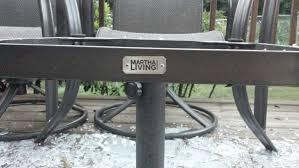 martha stewart living outdoor furniture replacement cushions outdoor furnitures martha stewart living furniture