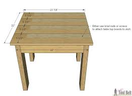 build an easy table and chair set for the little kids the set costs about