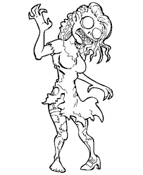 Zombie Coloring Pages Zombie Zombiecoloringpages