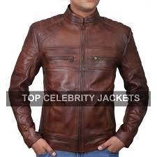 cafe racer vintage brown jacket