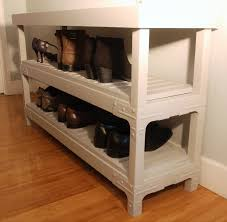 decorative build shoe rack 4
