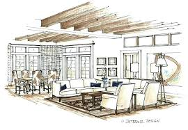 Interior Design Sketches Musicyou Co Parsito