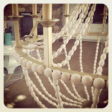 Diy Bead Chandelier Upcycle A Plain Chandelier Into A Beaded Showpiece