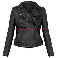 muubaa monteria black leather biker jacket size s xs s m l xl l women clothing jackets