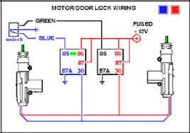 auto lock wiring diagram auto wiring diagrams relay auto lock wiring diagram