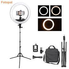 Studio Ring Light Uk Buy Fotopal Led Phone Photo Ring Light Dimmable Annular