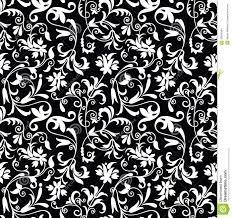 Fancy Background Design Seamless Fancy Floral Background Pattern Stock Vector Illustration