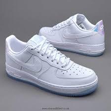 womens nike air force 1 white. Womens Shoes - Nike Air Force 1 07 Premium White 616725-105