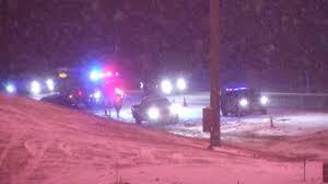 Snowfall Blizzard Lights Light Snowfall Creates Slick Roads Around Portland Metro