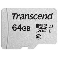 Thẻ Nhớ Micro SD Premium Transcend 64GB Class 10 - 45MB/s - Hàng Chính Hãng  - Thẻ nhớ điện thoại