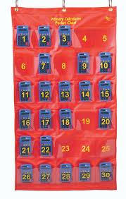 Calculator Pocket Chart With 30 Calculators