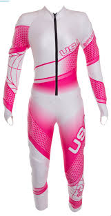 Design Your Own Ski Racing Suit Spyder Women Perfomance Gs Race Suit White Bryte Pink Ski