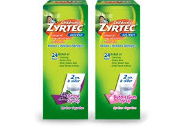 Childrens Zyrtec Allergy Syrup Zyrtec
