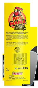 penrose big mama pickled sausage