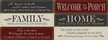 36 x 10 routered edge solid wood signs