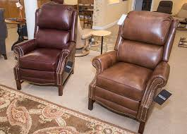 Bradington Young Alta Recliner Curriers Leather Furniture