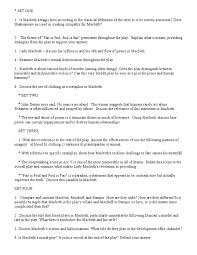 steps to writing essay questions on macbeth gender and lady macbeth write an essay describing whether or not you think it is important to the play that lady macbeth is a female character