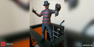 STL files of <b>Freddy Krueger</b> 3D Miniature for 3D <b>Printing</b> | Gambody ...