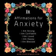 12 Positive Affirmations for Anxiety Relief