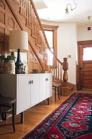 making it lovely s victorian entryway an wooden staircase