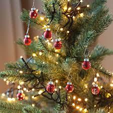 Mini Weihnachtsbaumkugeln Aus Glas 9er Set 2cm Christbaumschmuck Weihnachtsdeko