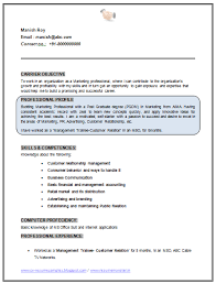 Glamorous Mba Marketing Fresher Resume Sample 18 For Your Cover Letter For  Resume with Mba Marketing Fresher Resume Sample