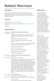 Technical Support Engineer Resume Samples VisualCV Resume Samples Amazing Technical Support Resume