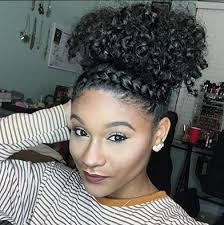 Twisted Hairstyles 26 Wonderful Curly Puff And Faux Twist Band Style IGkharissa
