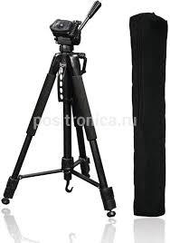 Купить Штатив <b>Hama</b> Action 165 3D <b>напольный</b> черный (00004095)