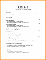 Job Resume 24 Job Resume Images Hd Edu Techation 8