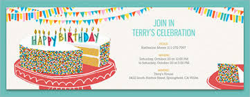 Free Online Birthday Invitations To Email Free Email Birthday Invites Magdalene Project Org