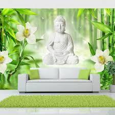 Fotobehang Boeddha En Natuur 400x280 Blokker