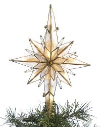beautiful star tree toppers for a dazzling tree moravian star tree topper glass