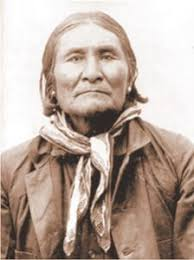 「General Nelson Miles accepted Geronimo's surrender,」の画像検索結果