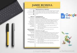 Modern Resume Template Google Docs Modern Resume Template Google Docs Resume Template Instant Download Cv Template Cv Design Resume Google Docs Resume Template Google Jamie