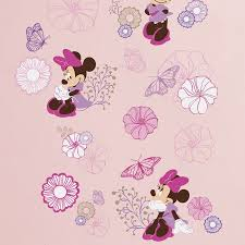 Minnie Mouse Stuff For Bedroom Minnie Mouse Wall Decals Minnie Mouse Personalised Disney Wall