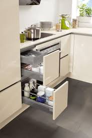 Space Saving Kitchen Furniture Nobilia Kitchen Collection Space Saving Base Unit Organisation
