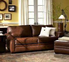 concept used 4piece pottery barn style leather sofa set w feather down 4 of potterybarn furniture